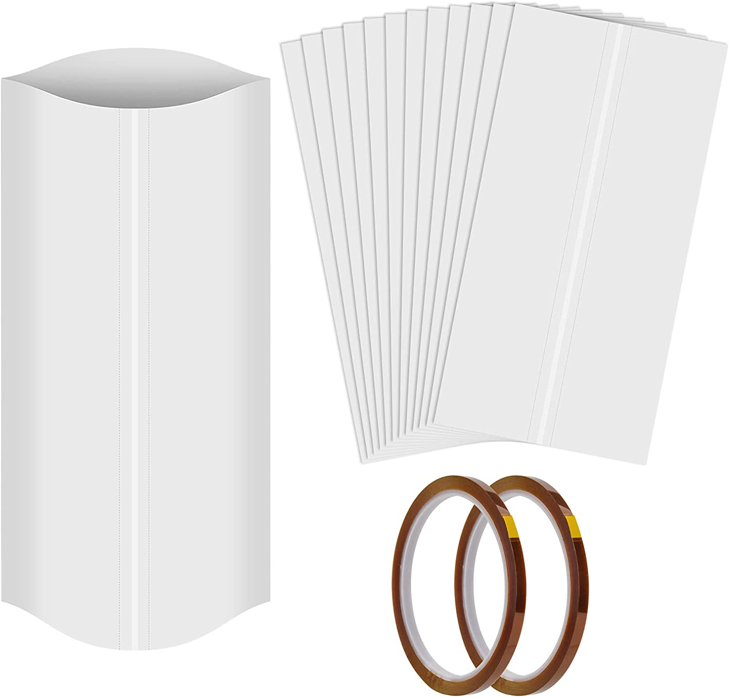 Many popular brands 8x12 Inch Sublimation Chicago Mall Shrink Wrap Sleeves for Tem High Tumblers
