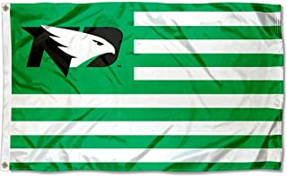 North Dakota Fighting Hawks Hawks Stars and Stripes Nation Flag