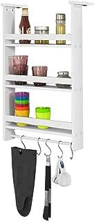 SoBuy FRG150-W Regal zum Aufhängen, für Kühlschrank, mit..