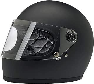 Biltwell Gringo S ECE Rated Helmet Flat Black Large (More Size and Color Options)