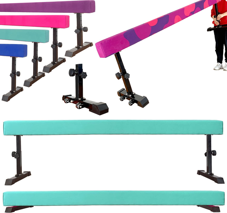Marfula 8 Feet Adjustable Beam Balance Gymnastics Tra Surprise Very popular! price