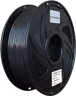 Black PLA+ 3D Printing Filament 1.75 mm, 2.2 LBS (1KG) Dimensional Accuracy +/- 0.02 mm(Black PLA+)