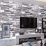 MultiWare Papier Peint ▏Stickers Muraux,Brique de Papier Peint ▏3D Wall Paper...