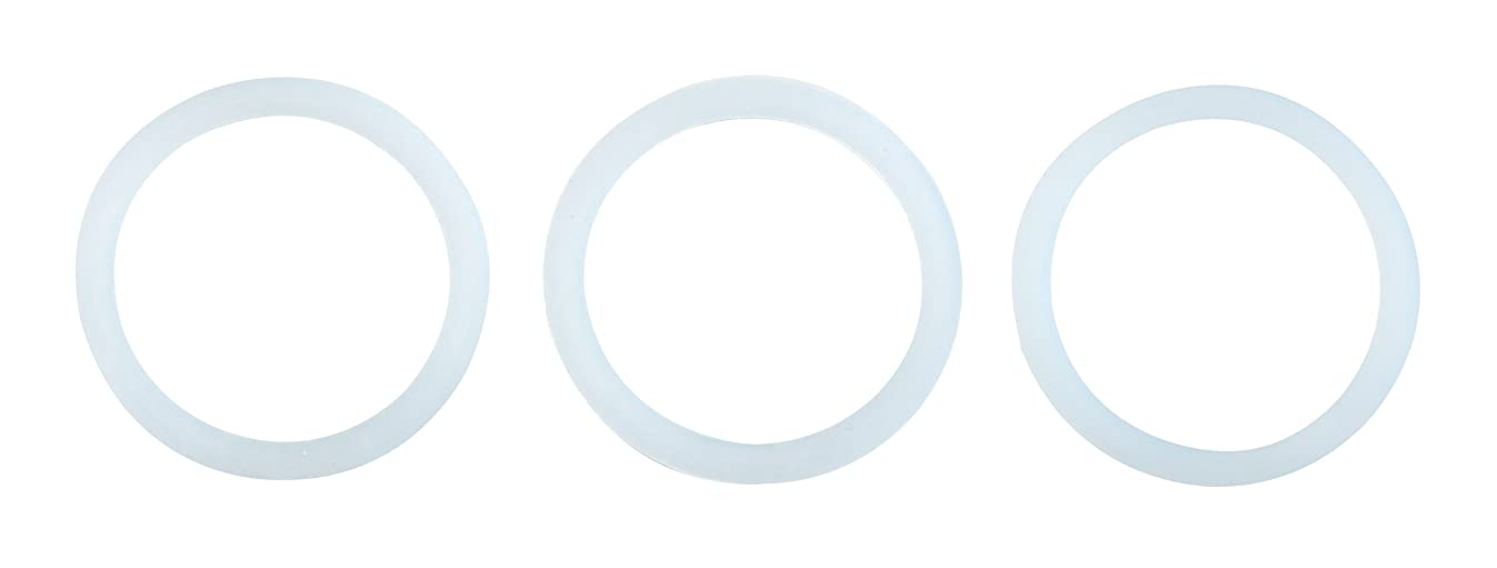 Primula Replacement Silicone Gaskets for 6 Cup Size Aluminum Espresso Pots, Set of 3