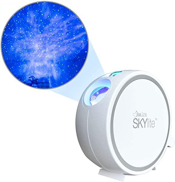 BlissLights Sky Lite Laser Projector W LED Nebula Cloud For Game Rooms Home Theatre Or Night Light Ambiance Indoor