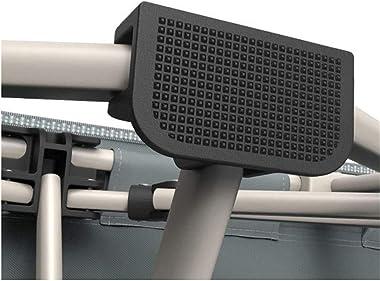 Aohi WXQ-XQ Lit Pliable Portable bain de Soleil pliant Cadre en Aluminium résistant à la rouille Appui-tête Pliable inclinabl