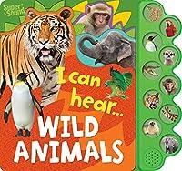 10-Button Super Sound Books - I Can Hear Wild Animals