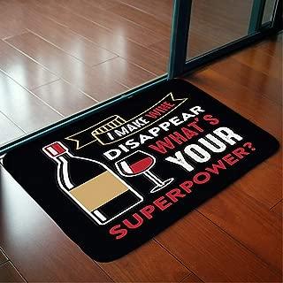 Bathroom WC Home Decor Rug Bedroom Floor Mats Door Mat Indoor Rugs,Wine Funny Quote Saying 100,Living Room Carpets