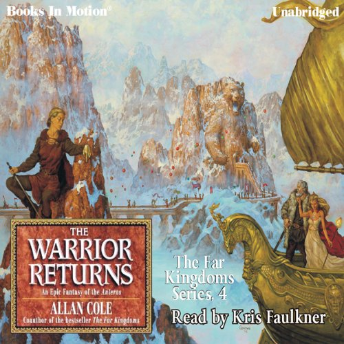 The Warrior Returns audiobook cover art