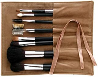 Ai (Love) Japanese Natural Hair Professional makeup 8 pcs brush set - Black handles -