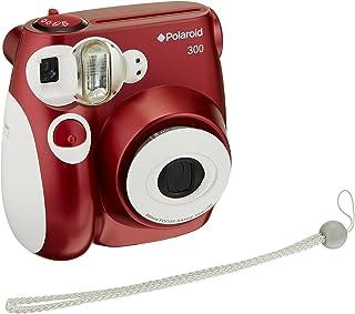 Polaroid PIC-300 - Cámara de película instantánea, color rojo