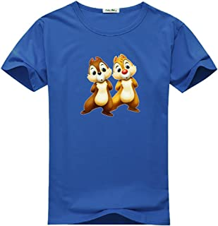Chip N Dale for Women Printed Short Sleeve Tee T-shirt