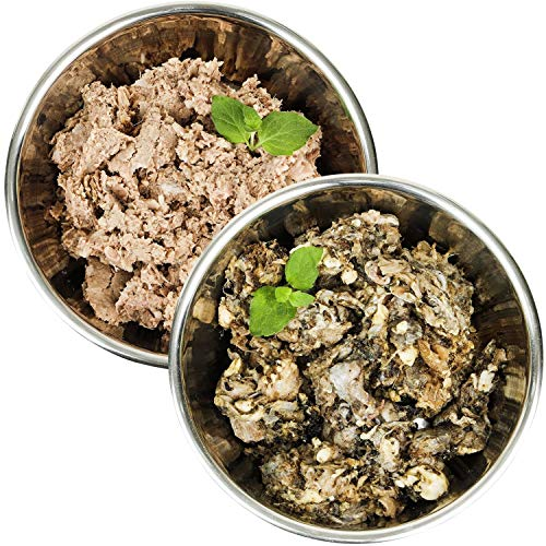 Barf-Snack Frischfleisch - Sparpaket Rind-Power-Mix & Pansen 28kg Frostfutter für Hunde & Katzen, Barf Hundefutter, Barf Katzenfutter, Gefrierfutter