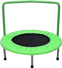 36 Inch Mini-trampoline Met Armleuning, Oefening Trampoline, Trampoline Voor Kinderen, Alle Stalen Structuur, Sterke Lent...