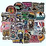 XXCKA Field Hockey Sticker Impermeable para Equipaje Maleta Pc Laptop Phone Motocicleta Styling Stickers 50Pcs / Set