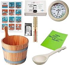 SudoreWell® Starter Set 2 Kit pour Sauna/Accessoires pour Sauna 2-9 pièces