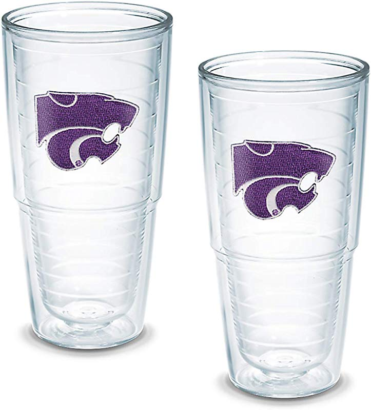 Tervis Tumbler Kansas State University 24 Ounce Double Wall Insulated Tumbler Set Of 2 1006230