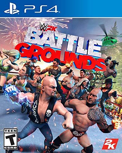 WWE 2K Games Battlegrounds