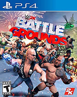 WWE 2K Games Battlegrounds Parent