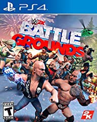 Available shipping options can be found on the order confirmation page. It's your Battleground! Make WWE 2K Games games BATTLEGROUNDS your own with tons of customizable parts as you create, customize, and edit your own original created characters and...
