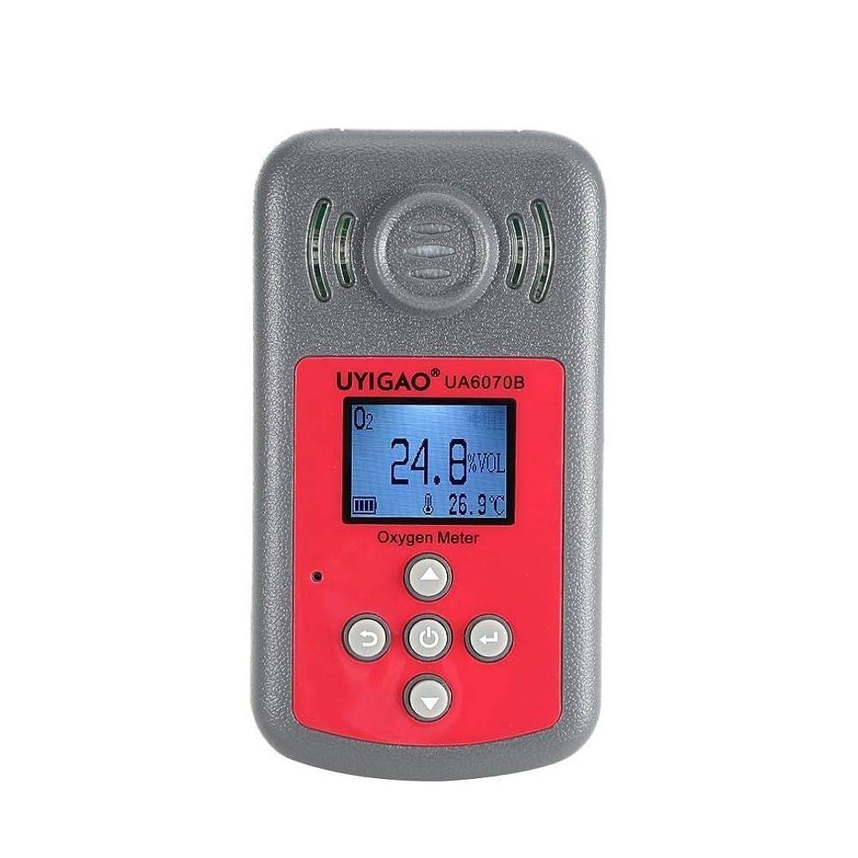 残り慣習九ガス検知 デジタル酸素検出器 O2ガス分析装置 大気質モニター UA6070B 酸素計