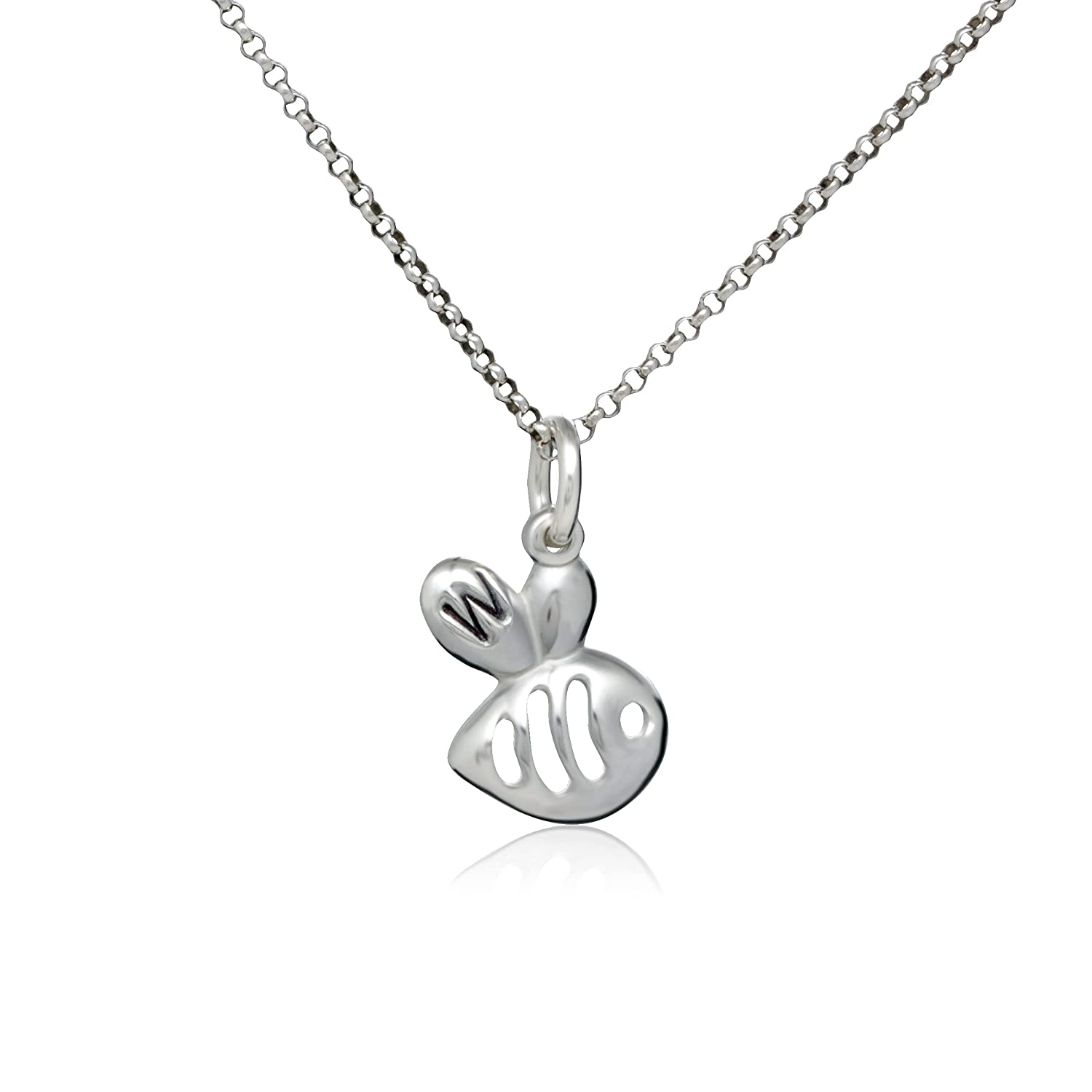Bee Charm Pendant 67% OFF of fixed price Necklace personalized with Initial Attention brand W your