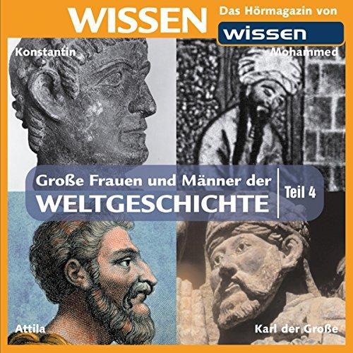 Große Frauen und Männer der Weltgeschichte 4 Titelbild