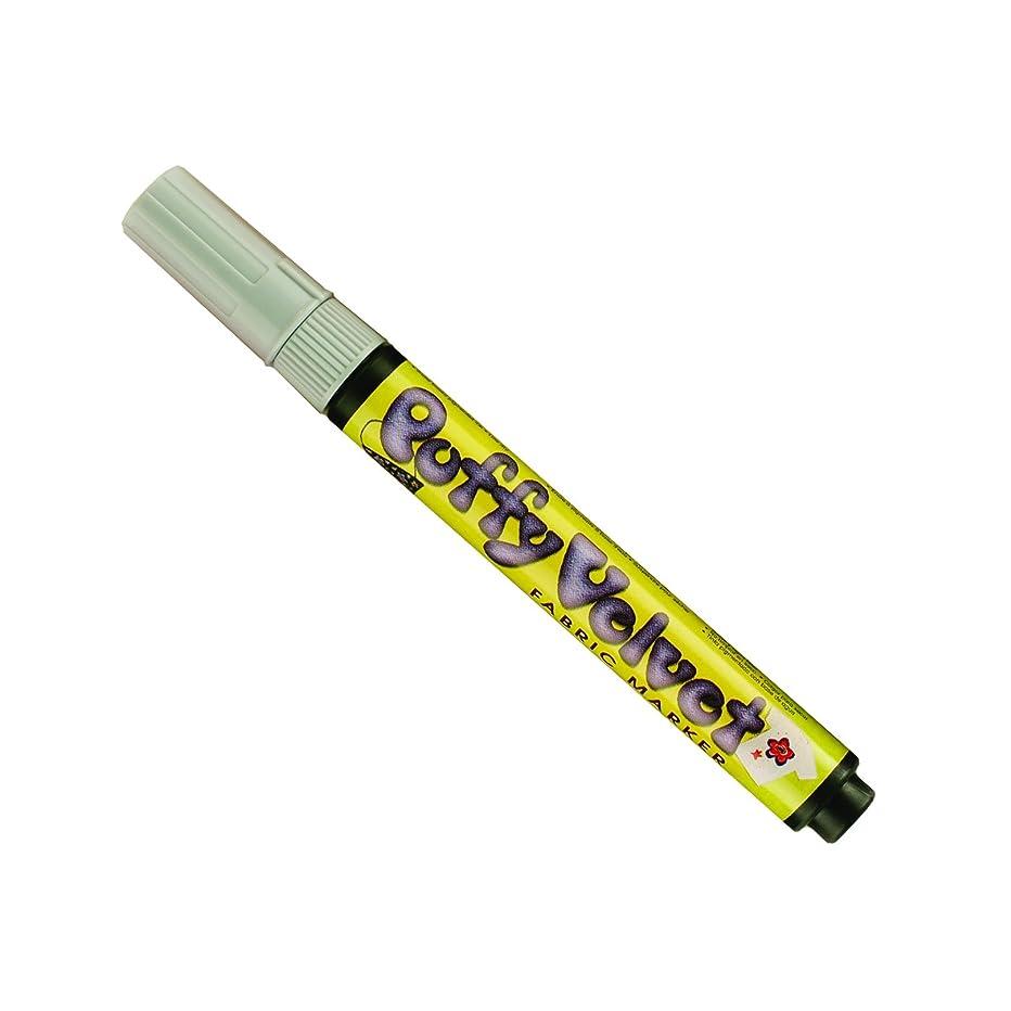 Uchida 1022-C-37 Marvy Fine Point Puffy Velvet Marker, Cool Gray