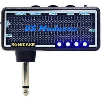 SONICAKE Amplificador de bolsillo para uso con auriculares US Madness para Bajo: Amazon.es: Instrumentos musicales