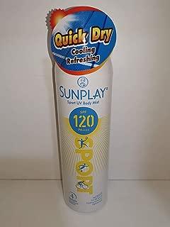 Best sunplay uv body mist Reviews