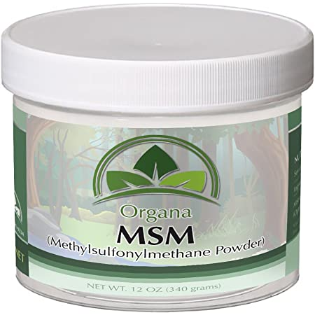 Amazon.com: The BEST MSM (Opti MSM) By Organa - Pure Fast Dissolving  Crystal Powder Of Distilled Methylsulfonylmethane – Nutritious, Effective  And Safe Dietary Supplement –Hypoallergenic - No Fillers or Additives:  Health &