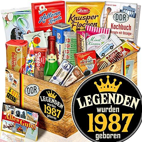 Legenden 1987 - Süße Ostbox - Geschenke Ideen für Ihn