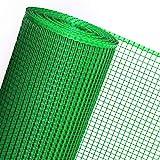 Goplast 30m² MASCHENGEWEBE 0,6m x 50m Kunststoffzaun Gartenzaun Geflügelzaun Gartenzaun Zaun Rankhilfe Grün