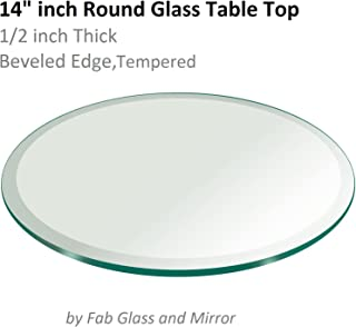 Best 20 glass table topper Reviews