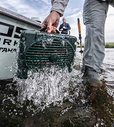 Turtlebox: LOUD! Outdoor Rugged Bluetooth Speaker ~ 50+ Hour Charge   IP67 Waterproof & Dustproof. Plays up to 120db. Pair 2x for True Stereo   Made for Hunting, Fishing, Sports, Camping, Boating, ATV