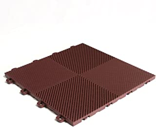 Brown Block Tile B2US5230 Multi-Purpose Drain Tiles Perforated Pattern
