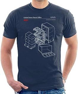 NASA Standard Payload Racks Blueprint Men's T-Shirt