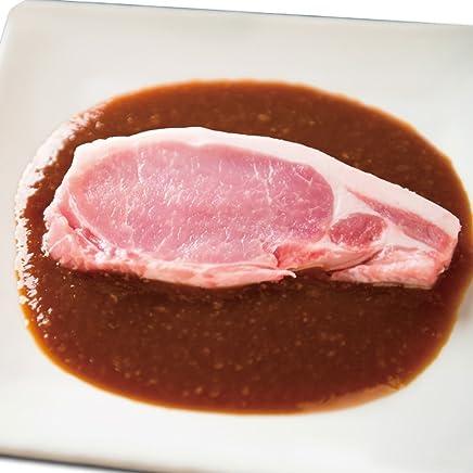 茨城県産 豚のみそ漬け ロース 1枚90g 肉のイイジマ