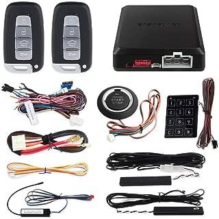 EASYGUARD EC002-K Rolling Code Universal PKE Car Alarm System Auto Start keyless go System Touch Password Keypad Entry Push Button auto Lock Unlock