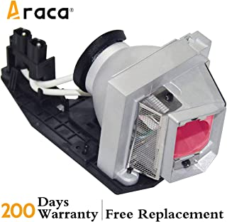 Araca for 1610HD /1510X Projector Lamp with Housing for DELL 330-6581/725-10229 /1610X /KFV6M Replacement Lamp