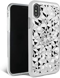 iPhone X/XS Case - FELONY CASE - Beautiful & Stylish 3D Geometric Kaleidoscope Design - Shock Absorbing Protective iPhone ...