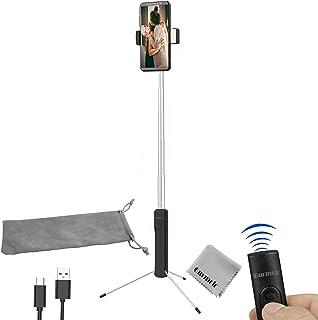 Gurmoir Extendable 30inch Bluetooth Selfie Stick Tripod Stand for iPhone 8 Plus/8/7/6 Plus/XS/XR/XS MAX/Galaxy S9/S9 Plus/...