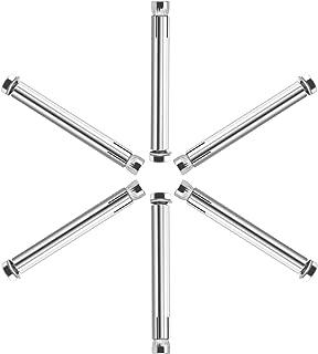 20 St/ück FASTON/® Flachkopfschrauben mit Schlitz M4x70 Bordwandschrauben aus rostfreiem Edelstahl A2 V2A Becherschrauben Tellerschrauben