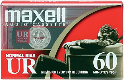 UR-60 60minute Audio Tape-MAXUR60 by Maxell