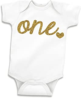 Bump and Beyond Designs Baby Girls First Birthday Outfit e Year Old Birthday (12-18 Months)