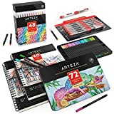 Arteza Creator Bundle, Drawing Art Supplies for Artist, Hobby Painters & Beginners