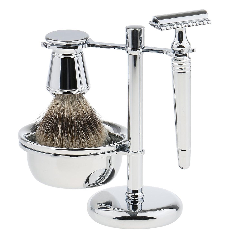 CUTICATE シェービング スタンド ブラシ カミソリ ボウル 髭剃り ひげそり メンズ プレゼント