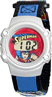 Kids' 70036B Character Superman Digital Watch