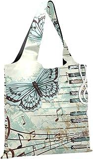 CaTaKu Papillon Sac de courses pliable et réutilisable en nylon imperméable et respectueux de l'environnement