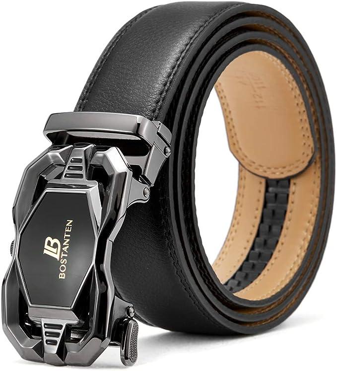 11290 opinioni per BOSTANTEN Cintura da Uomo In Pelle Belt Fibbia Automatica Cricchetto Cinture